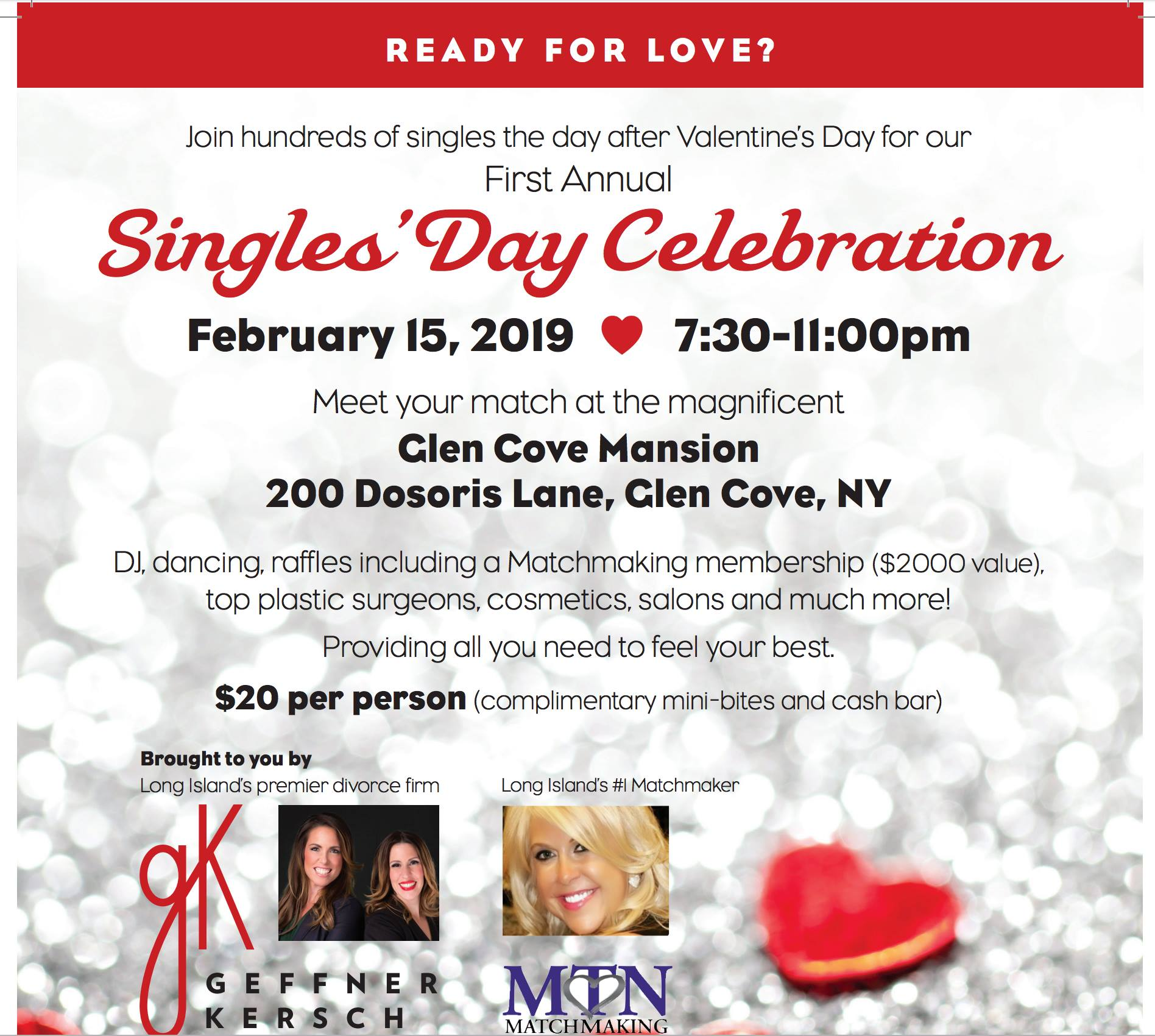 Special Announcement: First Annual Singles' Day Celebration