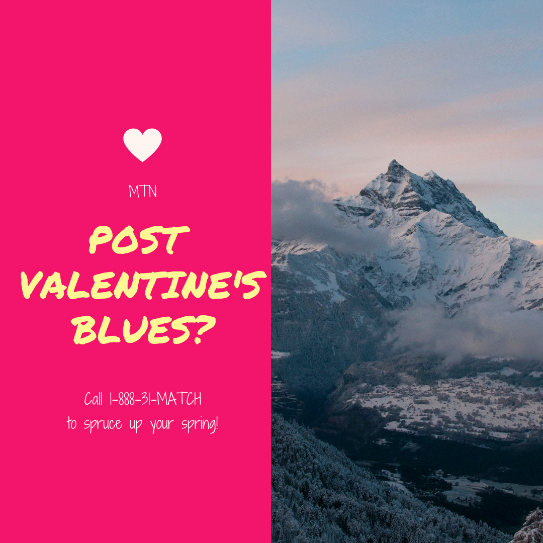 Post Valentine's Blues?