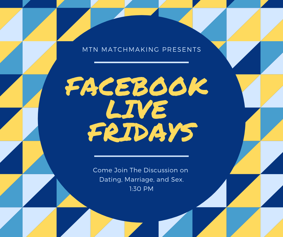 Stay Tuned for Facebook Live Fridays!